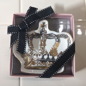 Juicy Couture Crown Trinket Tray Brand New